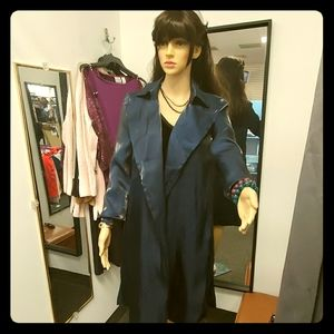 INC Belted Draped Trench Coat (no belt.)